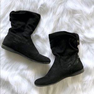 Shoes - Black booties - sz 8